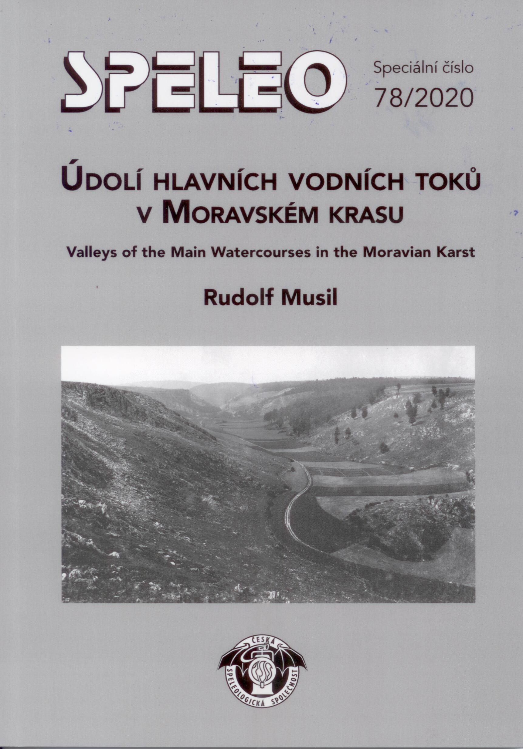 Údolí hlavních vodních toků v Moravském krasu